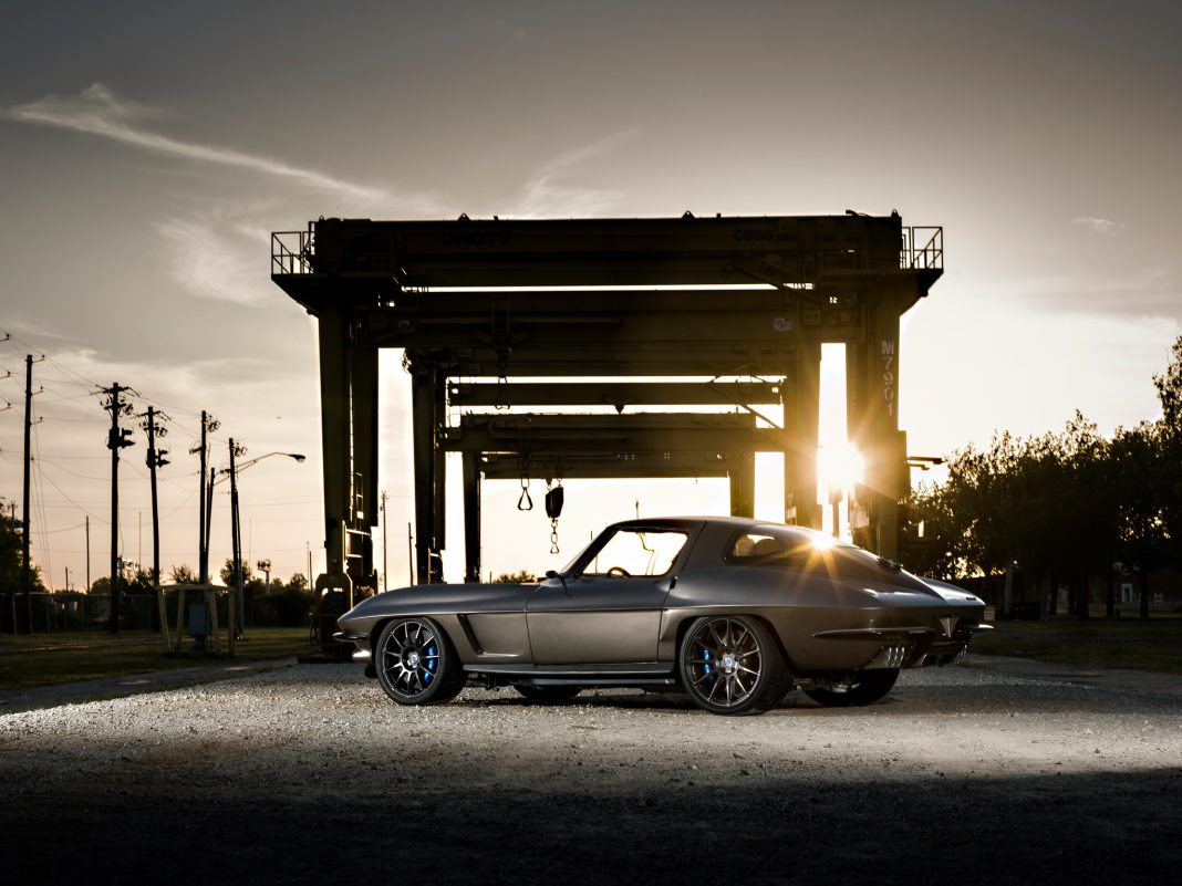 1967 Corvette Fitted With ZR1 Supercharged LS9 and HRE Wheels