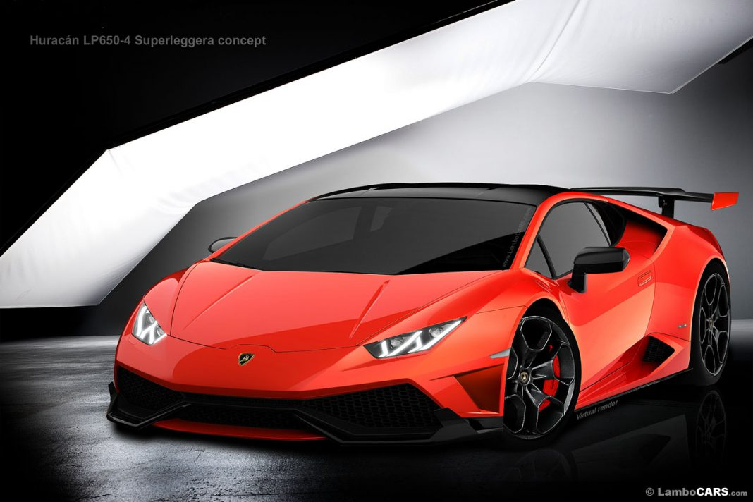 Lamborghini Huracan LP650-4 Superleggera Imagined