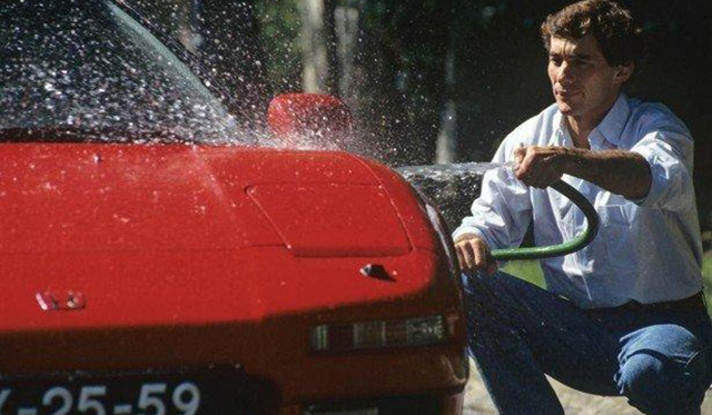 Another One of Ayrton Senna's Honda NSX's For Sale