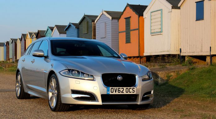 Jaguar XF Sportbrake Front