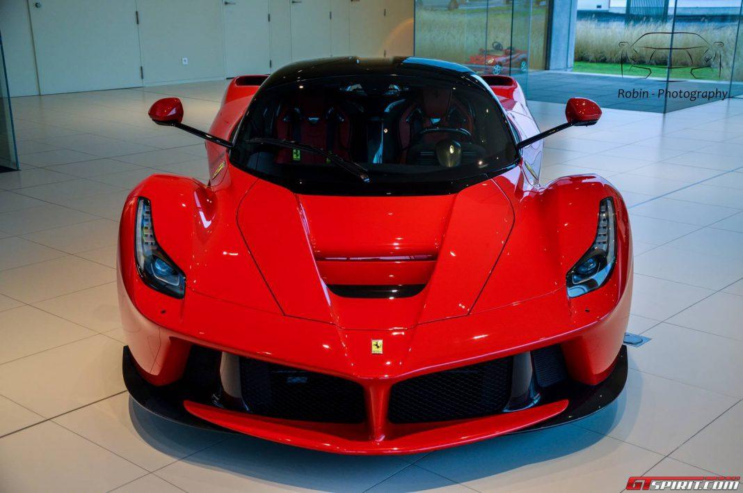 Ferrari LaFerrari Arrives in Belgium
