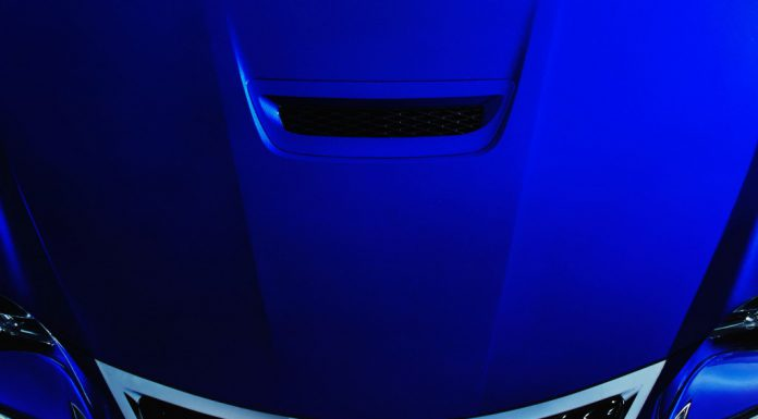 Upcoming Lexus RC F Teased for the Second Time