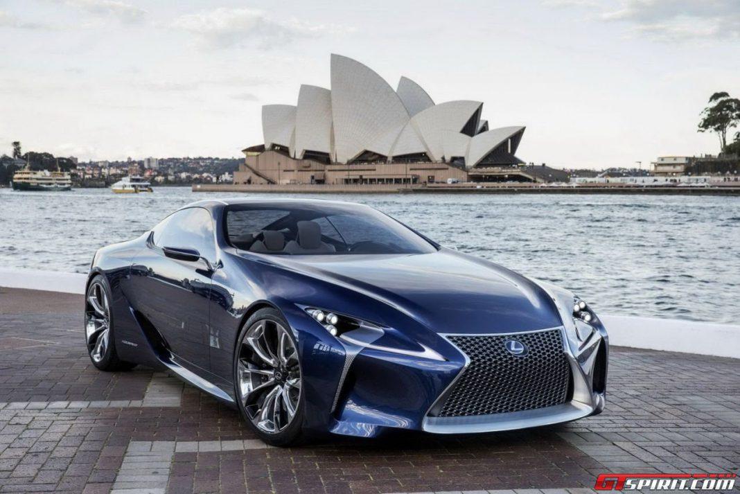 Lexus LF-LC Concept Could Spawn LFA Successor
