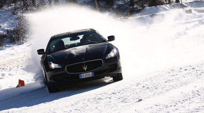 Maserati Winter Tour in Livigno Italy