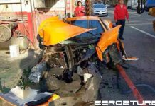 McLaren 12C Destroyed in Taiwan Crash