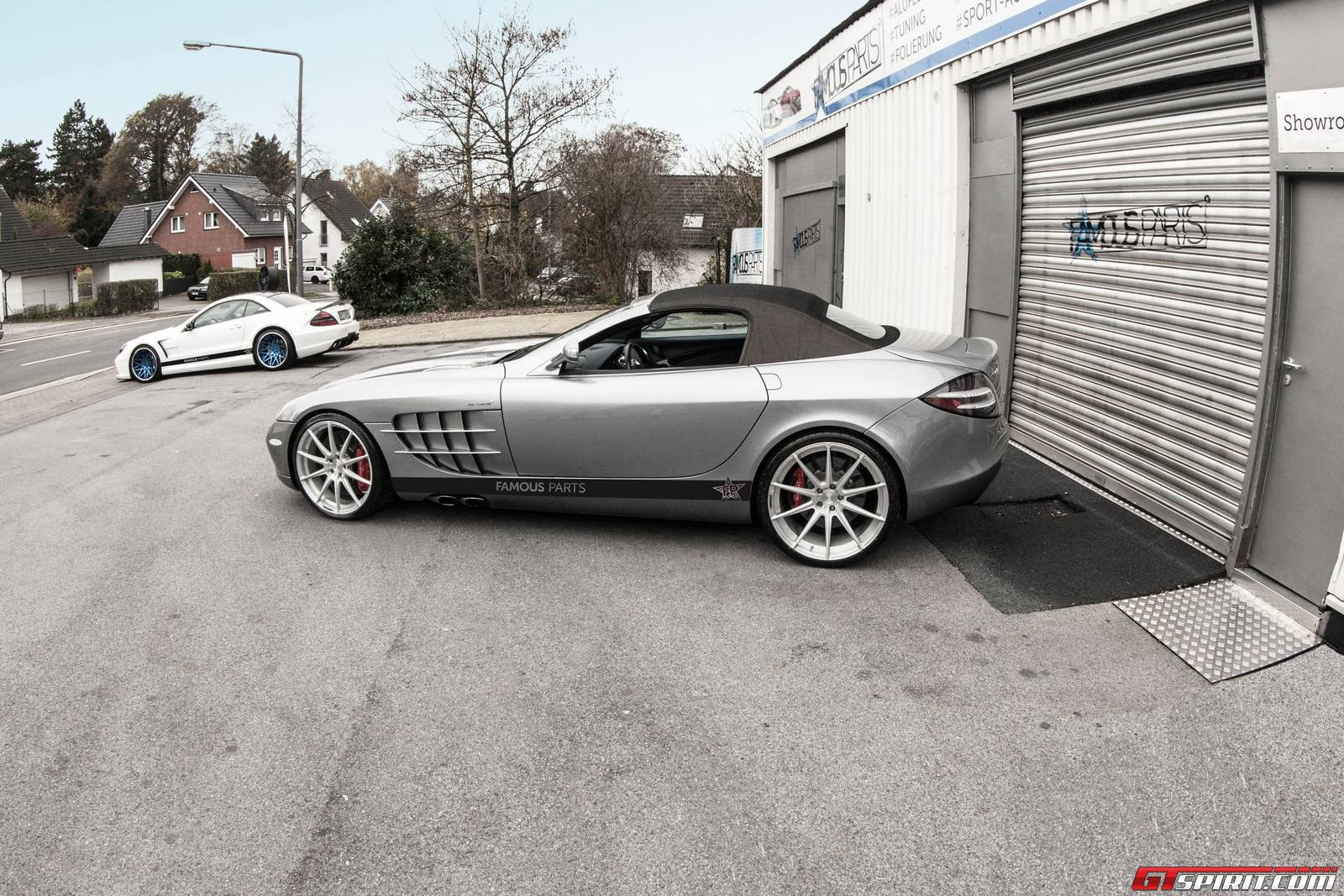 official mercedes benz slr mclaren roadster by famous