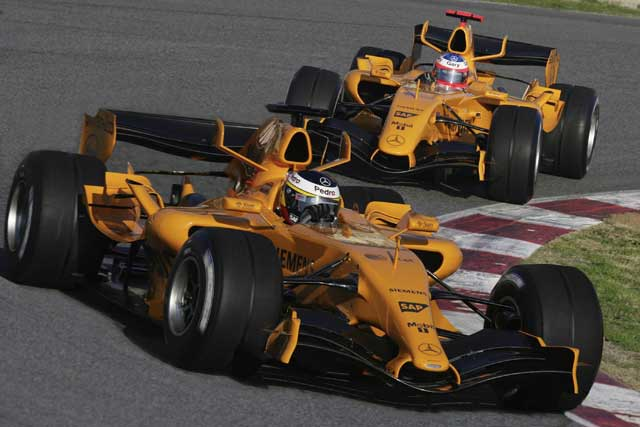 2014 McLaren F1 Car Could Return to Orange Theme