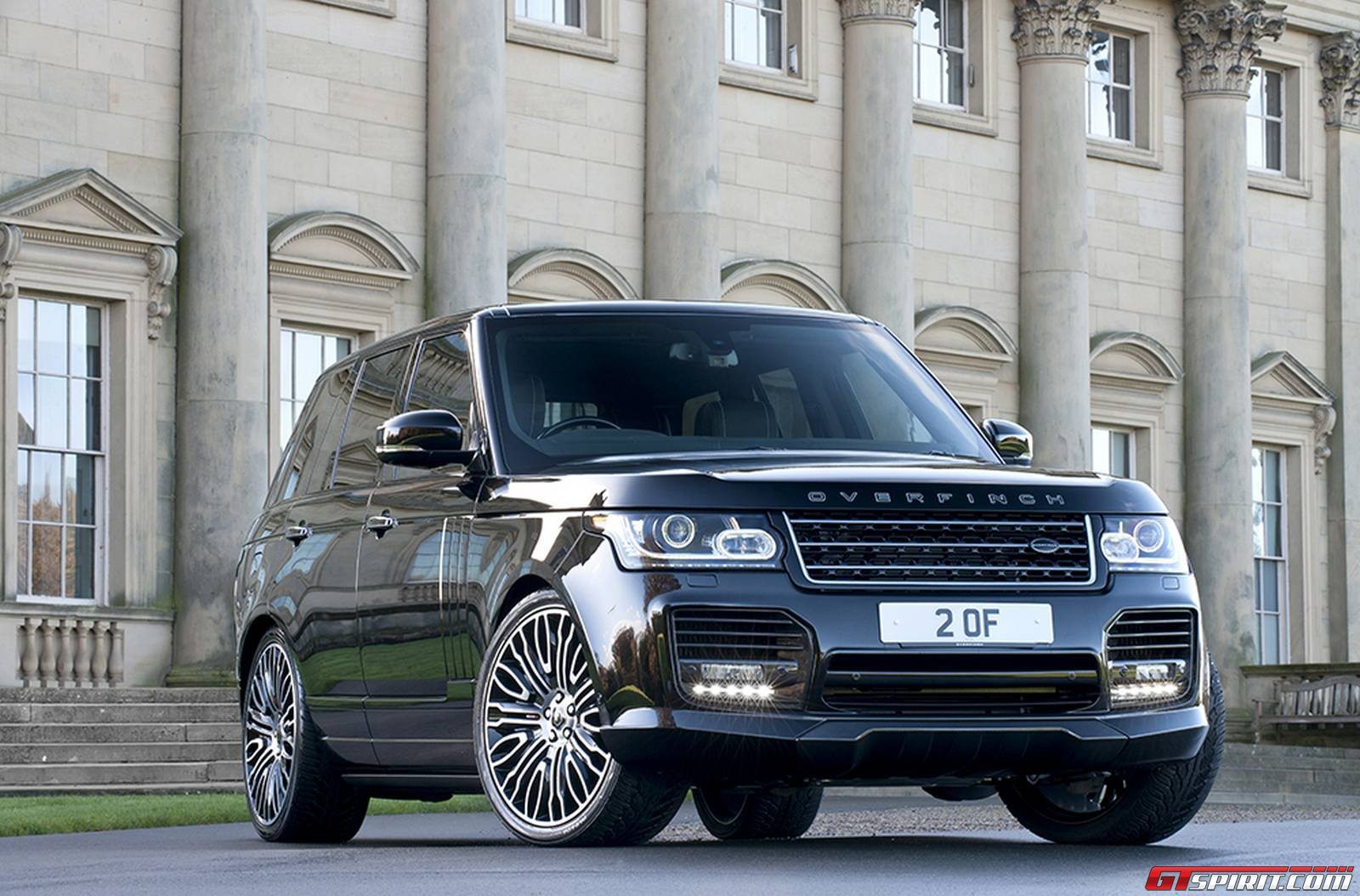 Range Rover Overfinch >> Official 2014 Range Rover By Overfinch Gtspirit