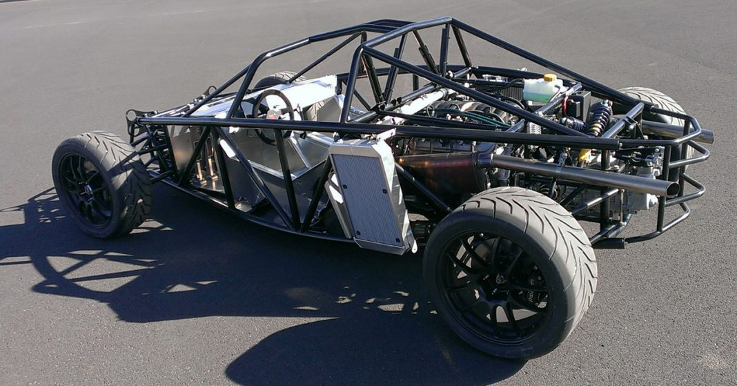 New 1800lbs, 430 hp American Sports Car in the Works