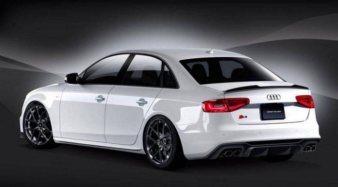 Preview: Vorsteiner Audi S4 Aero and Wheels Program
