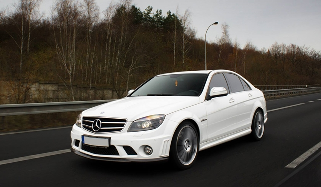 580 hp Strong Mercedes Benz C63 AMG by Väth Terrorizes
