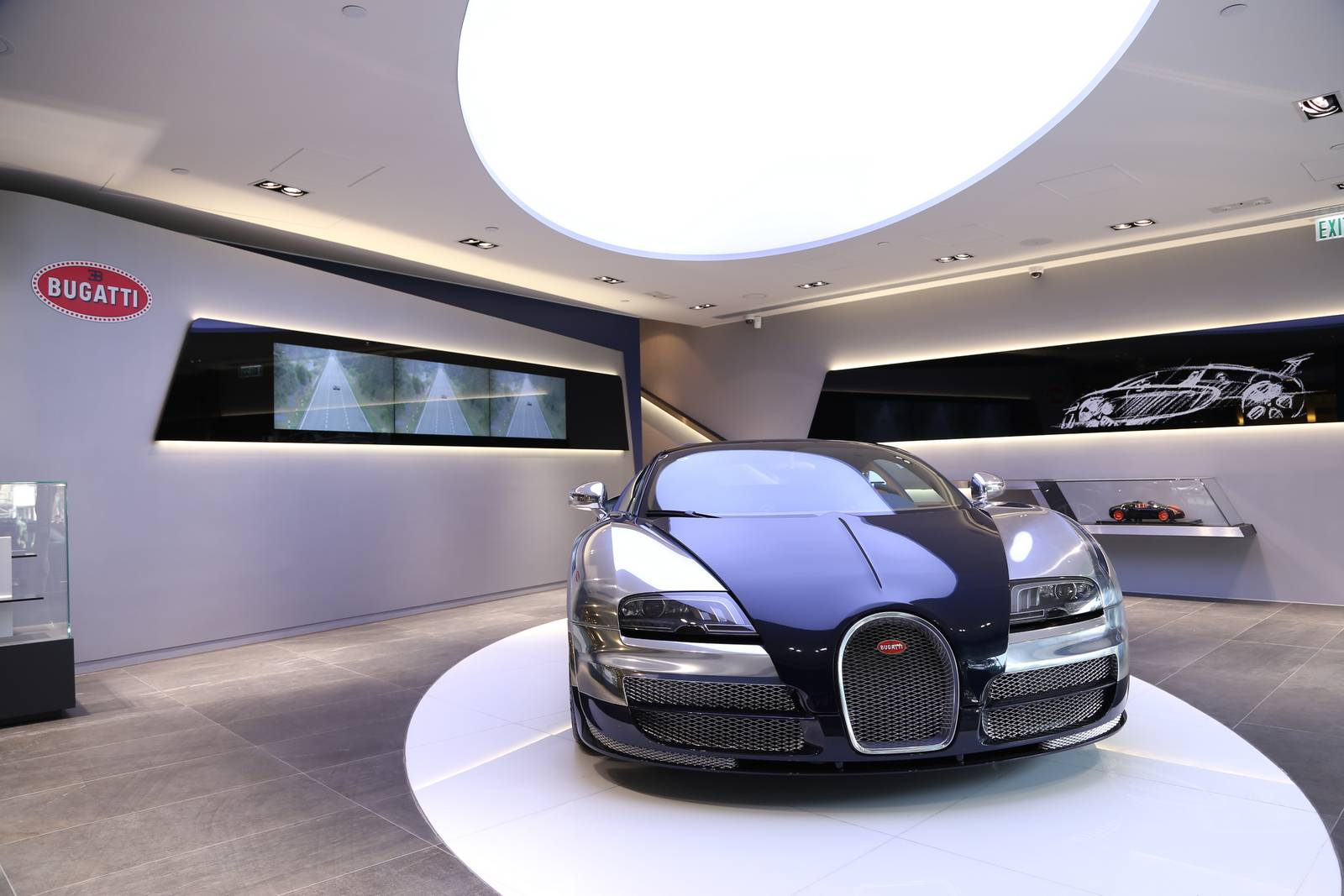 Bugatti Opens Dealership In Hong Kong Gtspirit