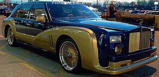 Lincoln Town Car Based Rolls-Royce Is Horrific