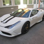 Stunning White Ferrari 458 Speciale For Sale in Germany