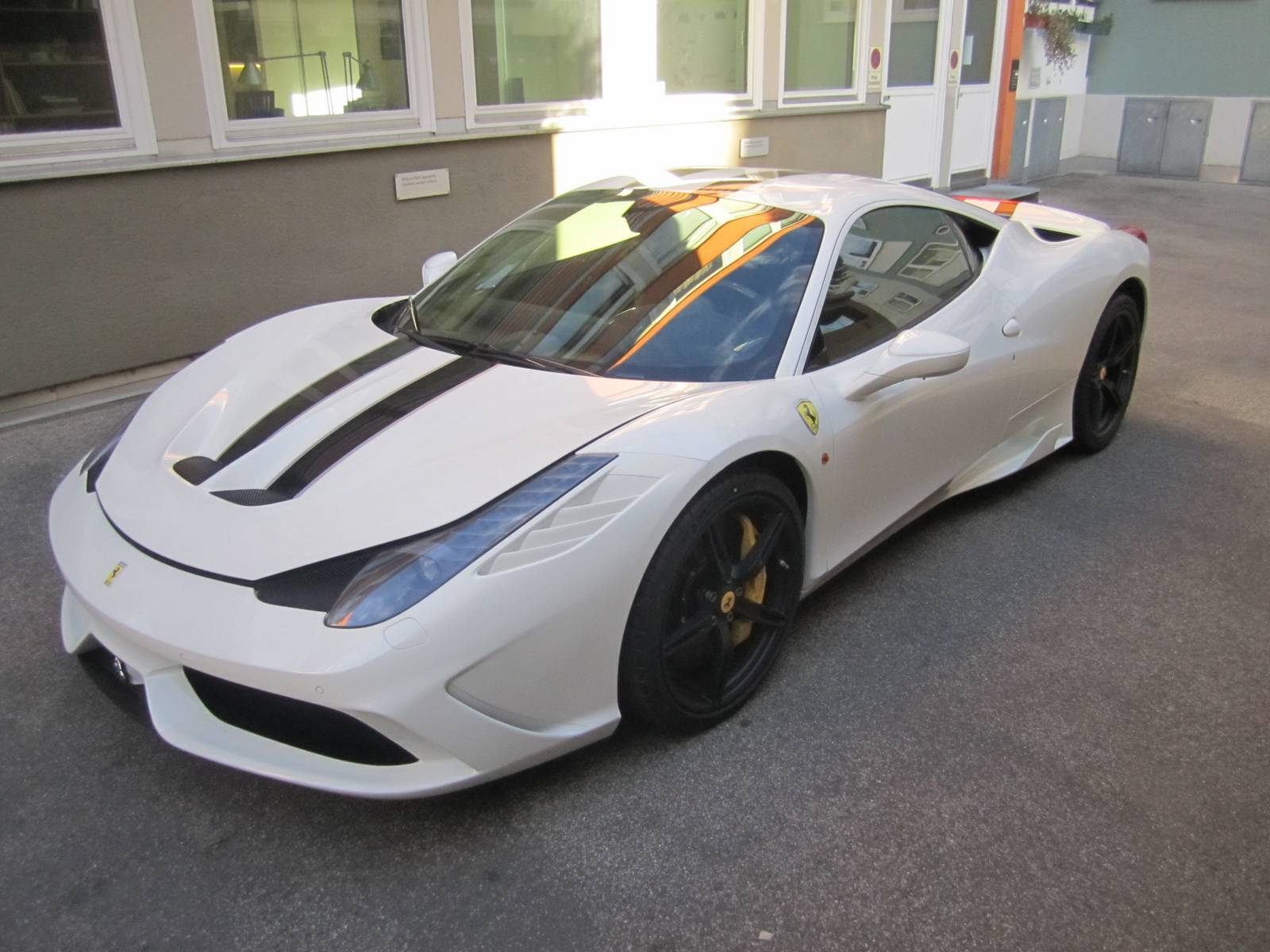 ferrari 2014 white. stunning white ferrari 458 speciale for sale in germany 2014 a