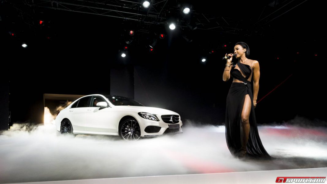 Kelly Rowland and Mercedes-Benz C-Class
