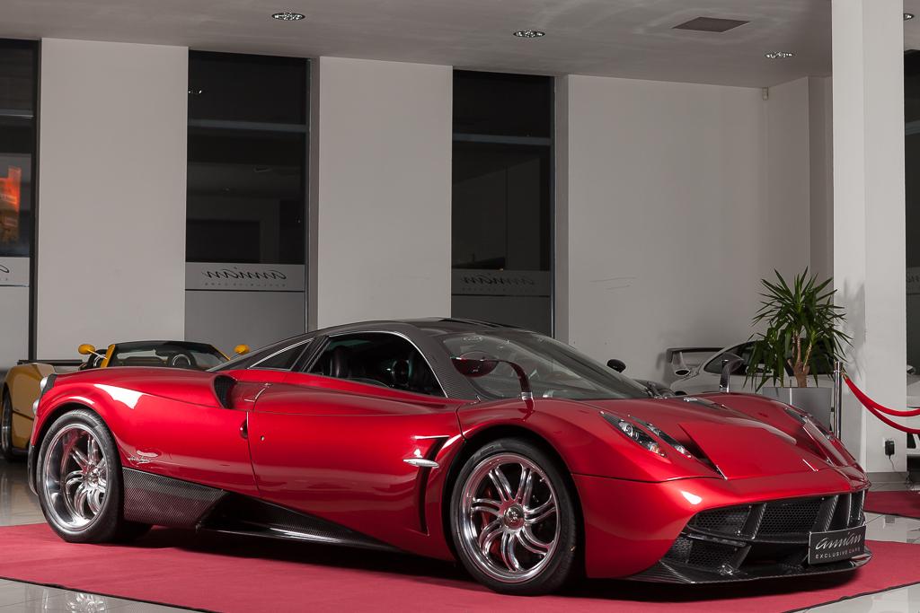 stunning red pagani huayra will set you back $2.6 million - gtspirit