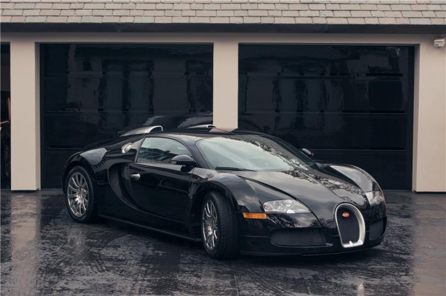 Simon Cowell's Black Bugatti Veyron Hitting Auction Block