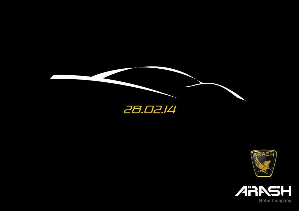 Arash Cars To Unveil New Supercar On February Gtspirit