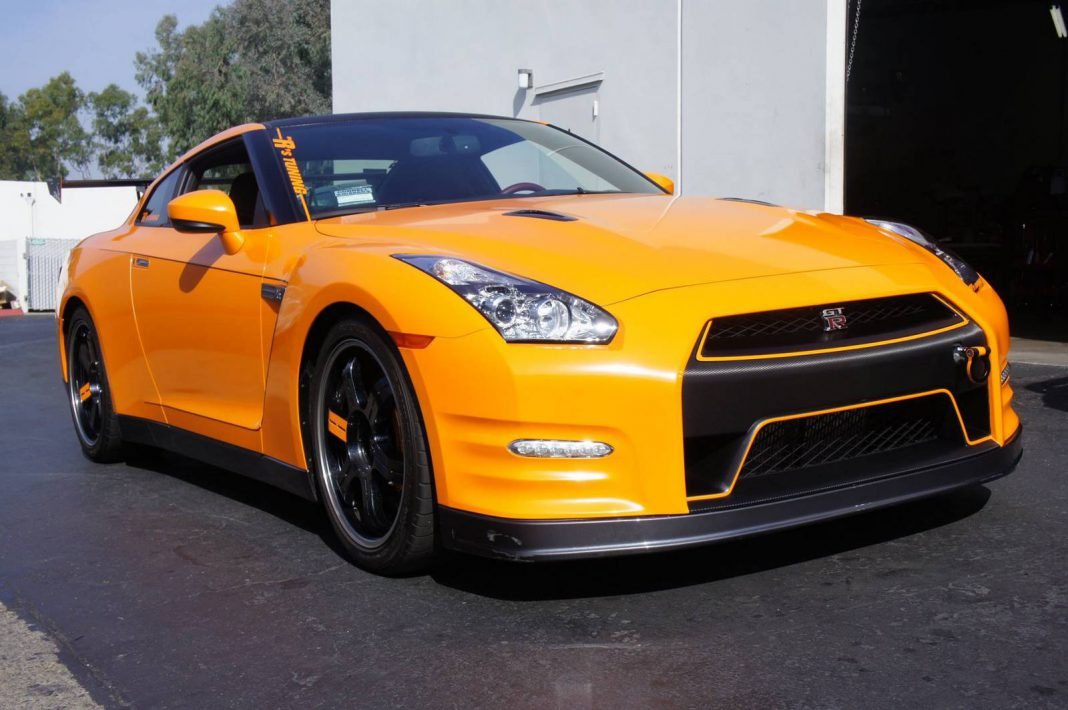 2014 nissan gt r black edition by the r 39 s tuning gtspirit. Black Bedroom Furniture Sets. Home Design Ideas