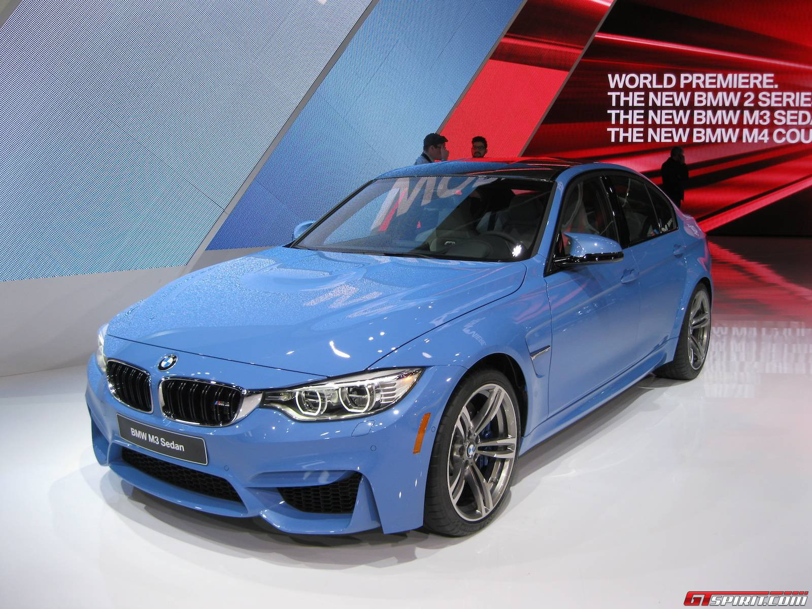 detroit 2014 bmw m3 sedan gtspirit. Black Bedroom Furniture Sets. Home Design Ideas