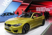 BMW at Detroit Motor Show 2014