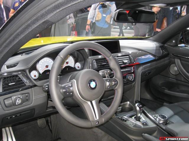 2014 BMW M4 Interior