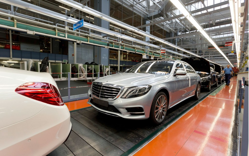 Mercedes-Benz Produced 1.49 Million Cars in 2013