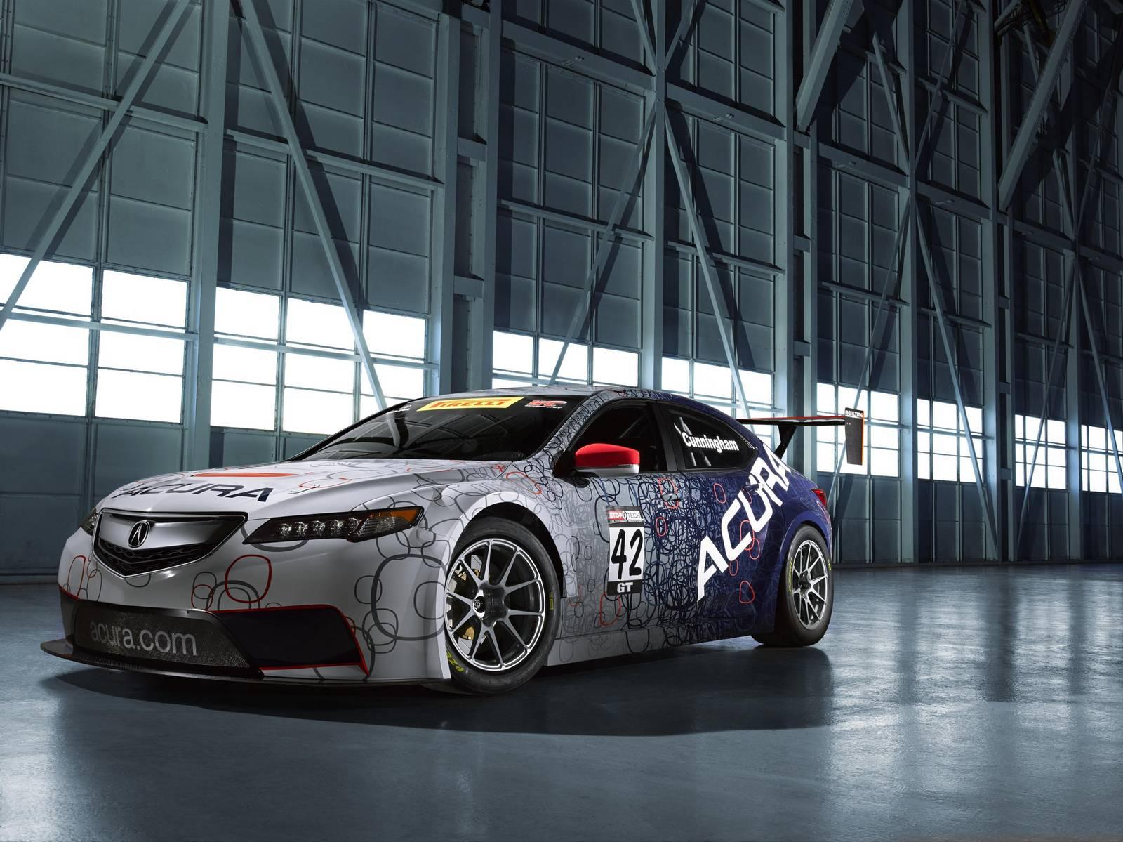 Official: 2015 Acura TLX GT Race Car - GTspirit