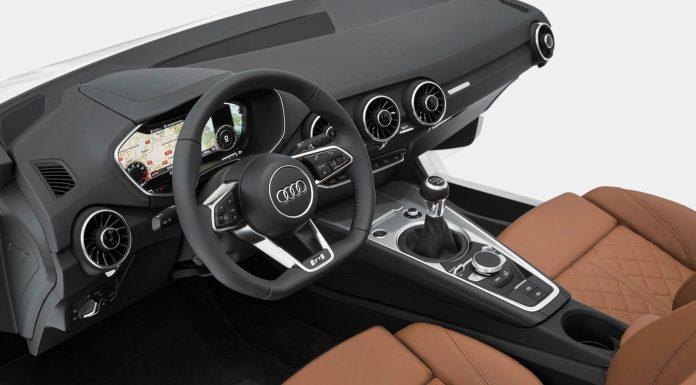 This is the 2015 Audi TT's Futuristic Cabin