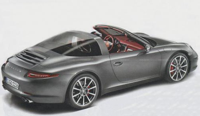 First Leaked Image of Porsche 991 Targa Emerges Along With Teaser