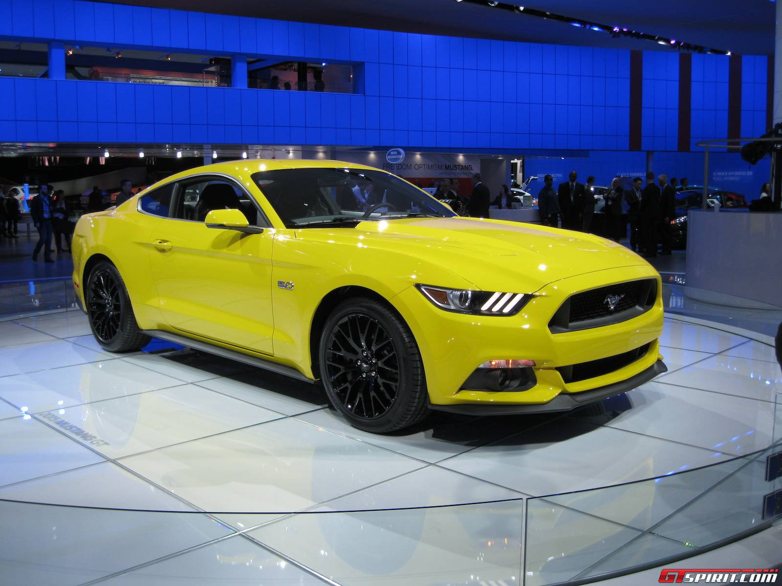 detroit 2014 2015 ford mustang gtspirit. Black Bedroom Furniture Sets. Home Design Ideas