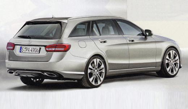Is This The 2015 Mercedes-Benz C-Class Estate?