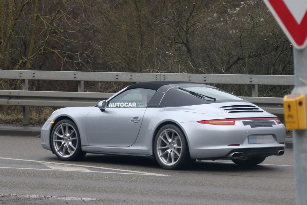 2015 Porsche 991 911 Targa Spied Again