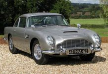 Genuine James Bond Aston Martin DB5 Costs Almost $5 Million