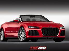 Audi Sport Quattro Laserlight Concept Cabriolet Imagined