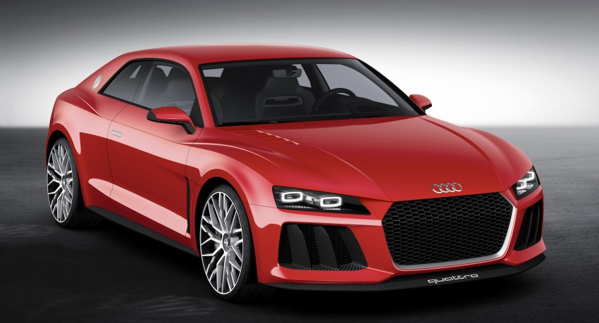 Audi Sport Quattro Could Sit Between TT and R8