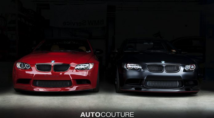 Stunning BMW M3 Duo Photoshoot by Autocouture