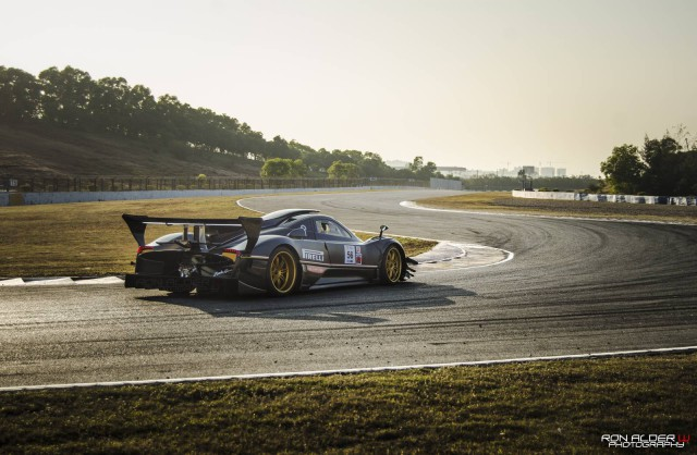 Pagani Zonda Revolucion Hits the Track in China