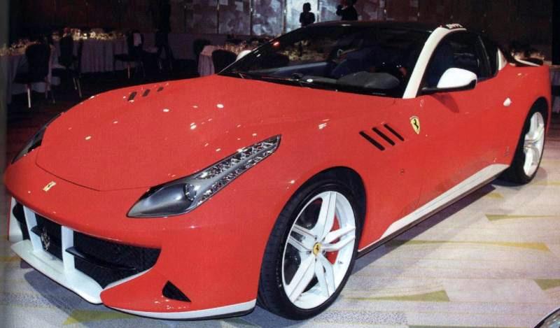 Ferrari SP FFX Leaks From Private Unveiling