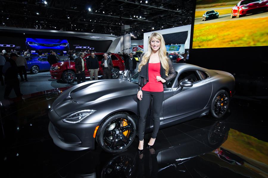 Girls of Detroit Motor Show 2014