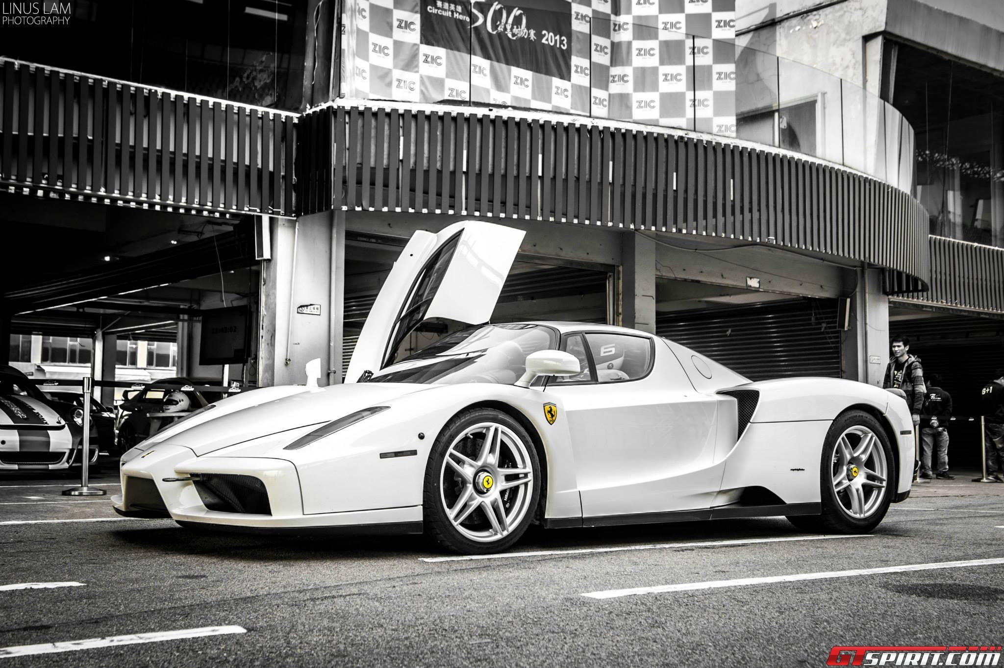 Photo Of The Day Bianco Avus Ferrari Enzo Gtspirit