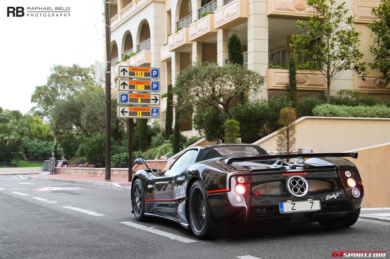 Pagani Zonda F Roadster Clubsport Spotted In Monaco Gtspirit