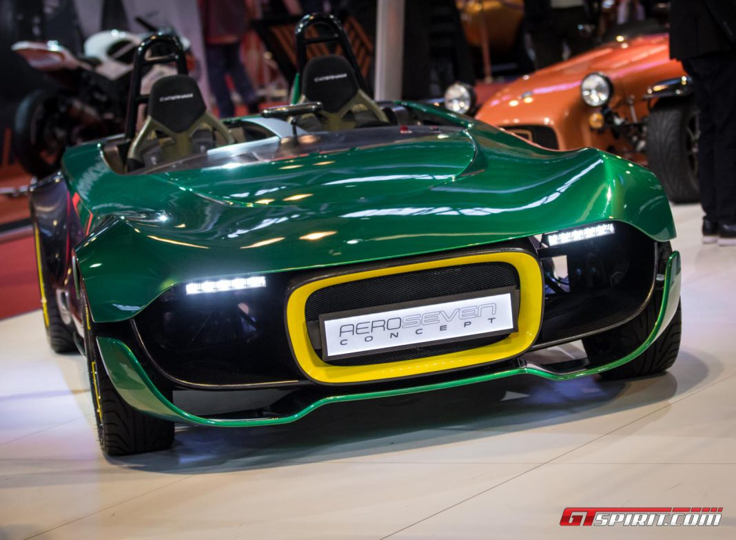 Autosport International 2014: Caterham AeroSeven Concept