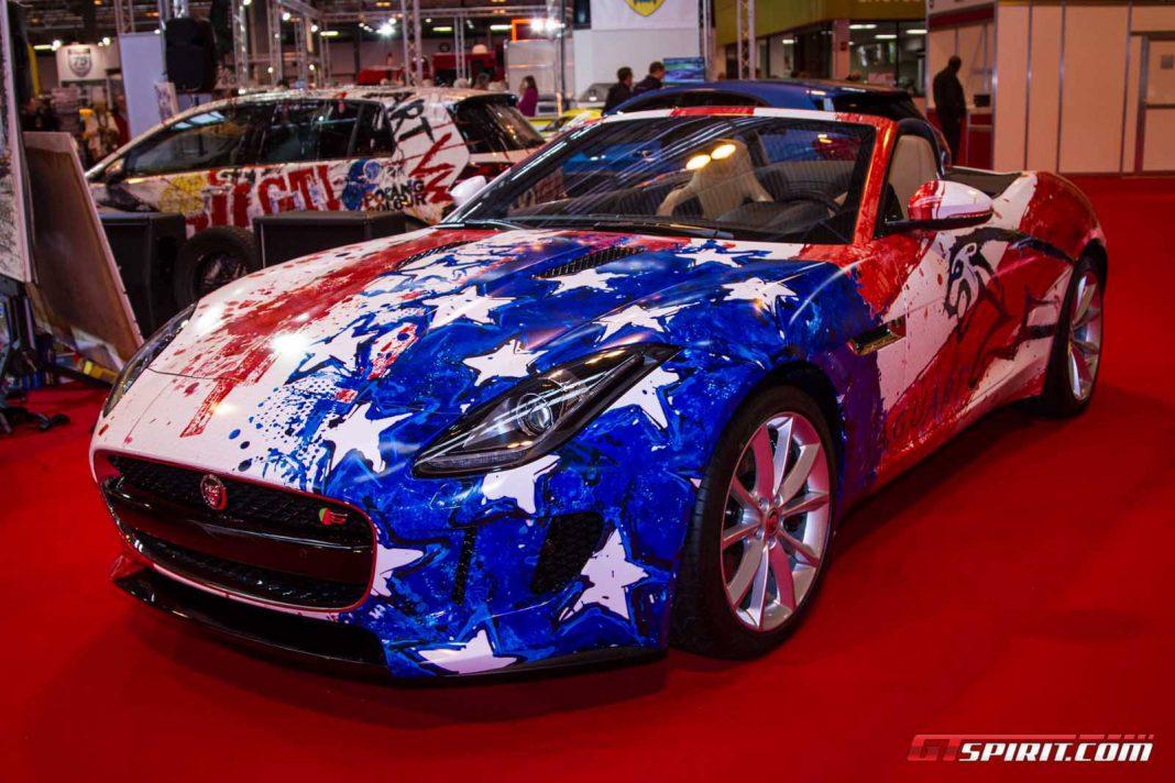 Pop Bang Colour at Autosport International 2014