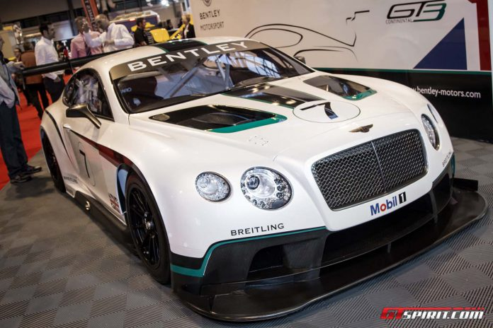 Autosport International 2014: Bentley Continental GT3