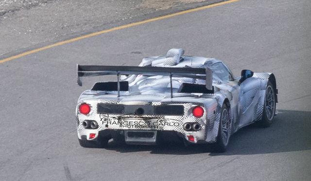 Ferrari LMP1 Prototype Uncovered During Testing!