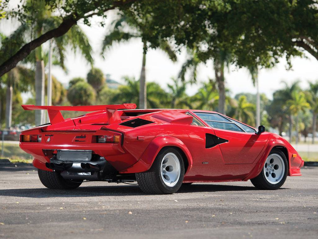 Rare 1986 Lamborghini Countach Lp5000 Qv Destined For Rm Auctions