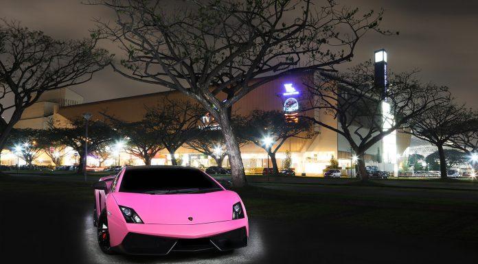 Pink and Purple Lamborghini Gallardo Superleggera