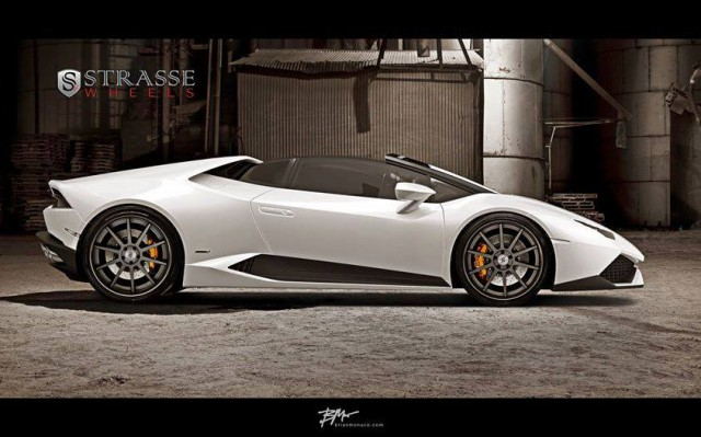 render lamborghini huracan spyder on strasse wheels gtspirit. Black Bedroom Furniture Sets. Home Design Ideas